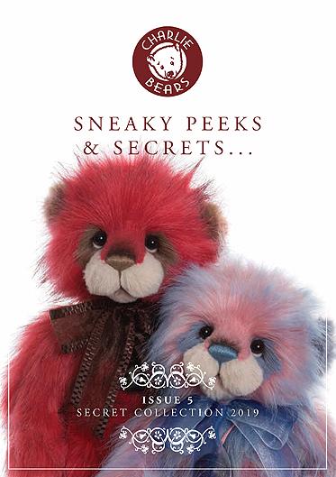 Charlie Bears BNWT Sandal Mohair Keyring